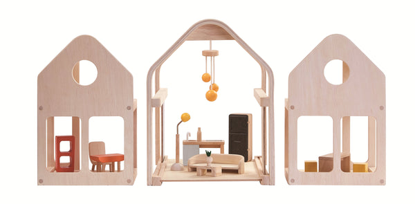 Plan Toys® Slide 'n' Go Dollhouse