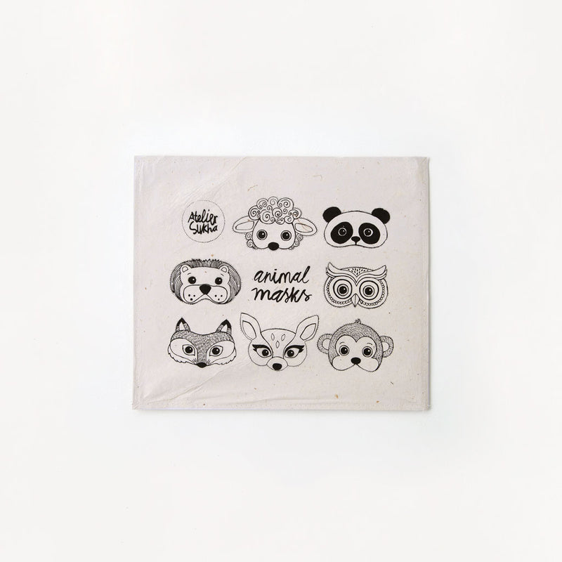 Sukha Animal Mask Set