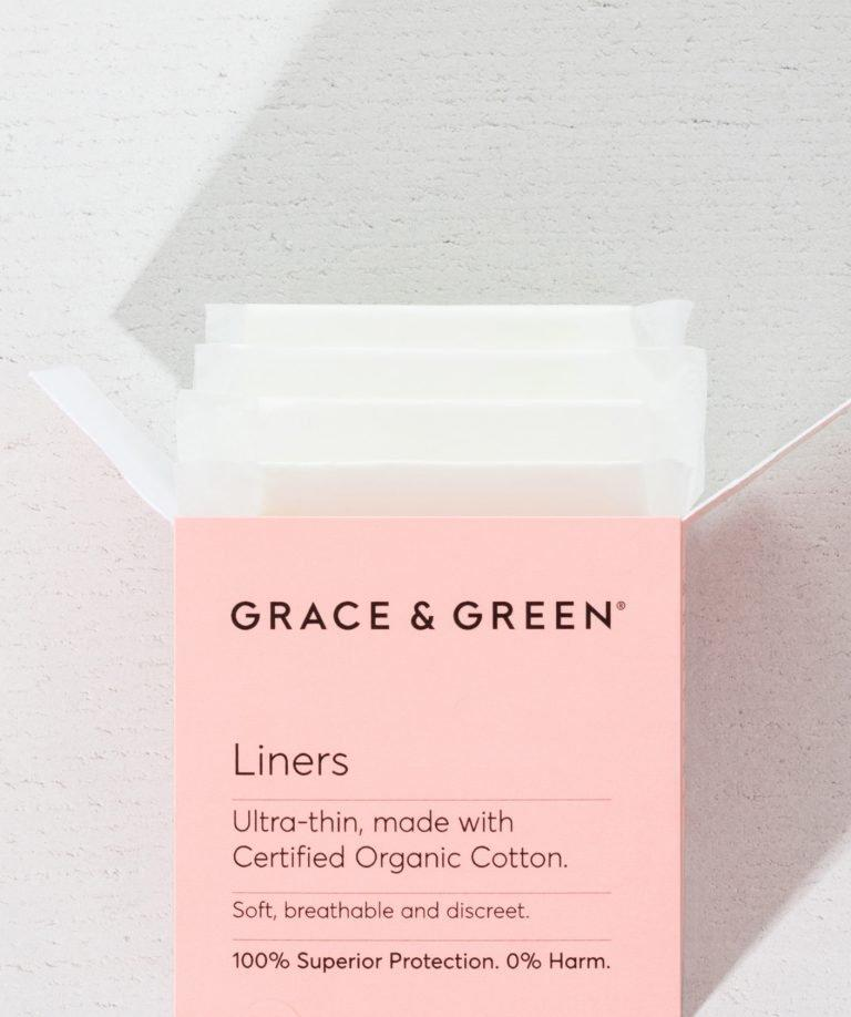 Grace & Green® Organic Panty Liners