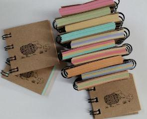 Tiny Recycled Notebook