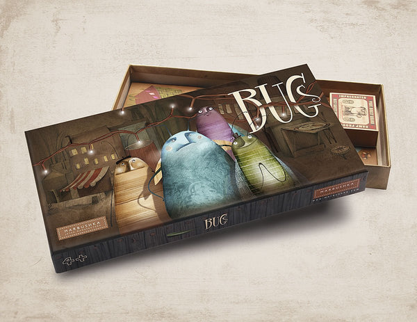 Bugs Board Game by Marbushka