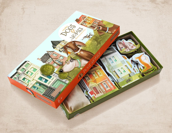 Dogs & Homes Board Game