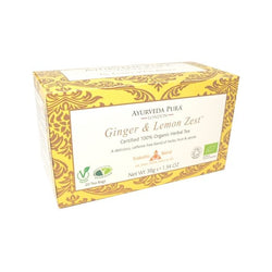 Ginger & Lemon Zest Tea