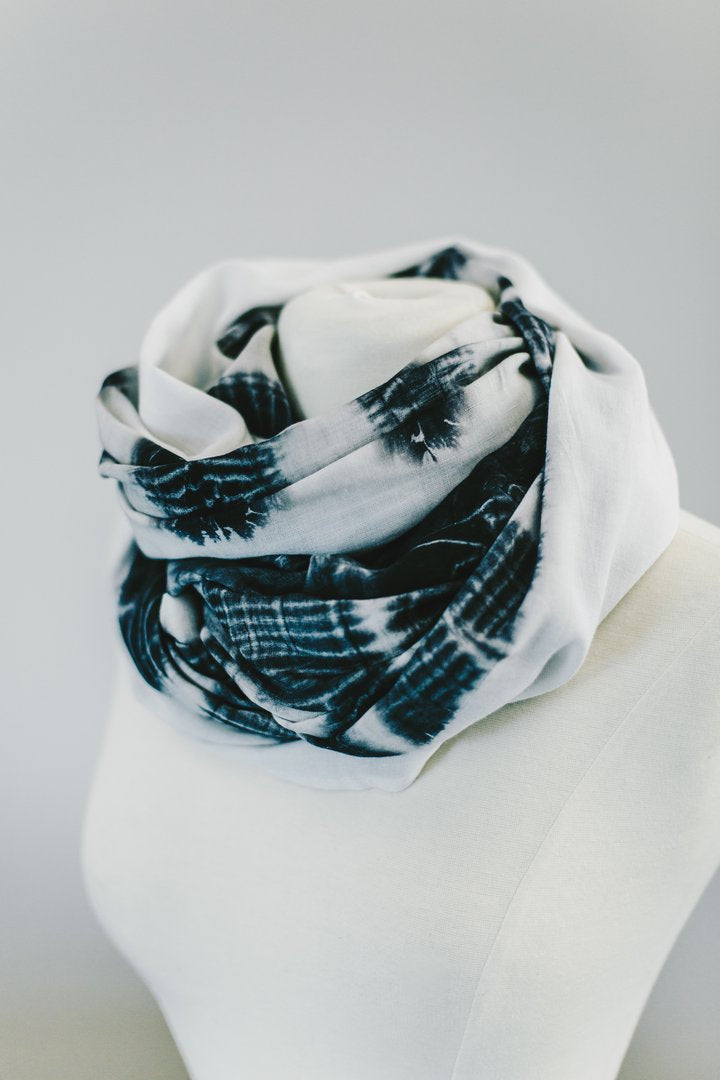 RefuSHE Zahara Charcoal Shadow Scarf - Soul Hippy