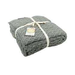 ReSpiin Knitted Recycled Wool Throw