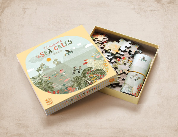 The Sea Calls 52 Piece Jigsaw Puzzle by Marbushka