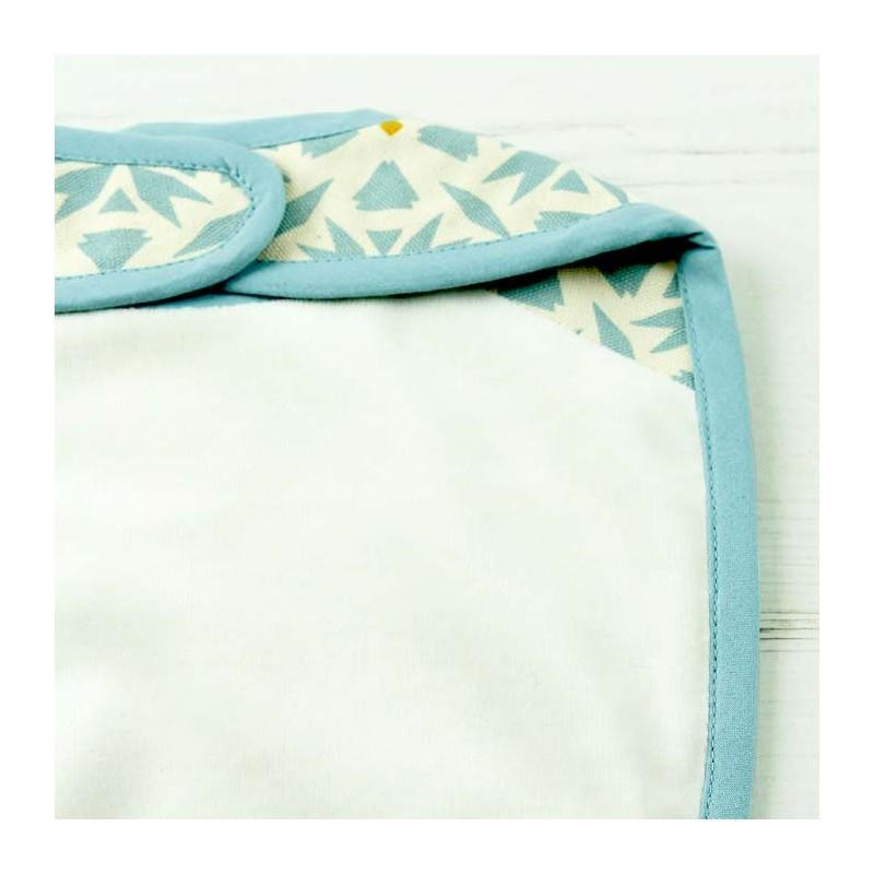 Keep Leaf Organic Cotton Reversible Baby Bib