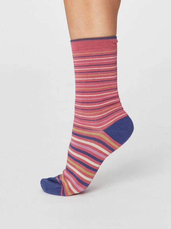 Thought® Spot & Stripe Socks