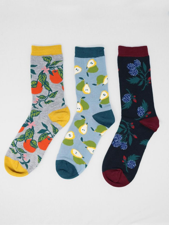 Thought® Winter Fruits Sock Pack