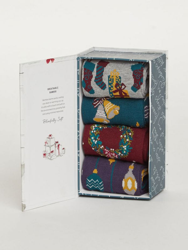 Thought® Christmas Eve Sock Box