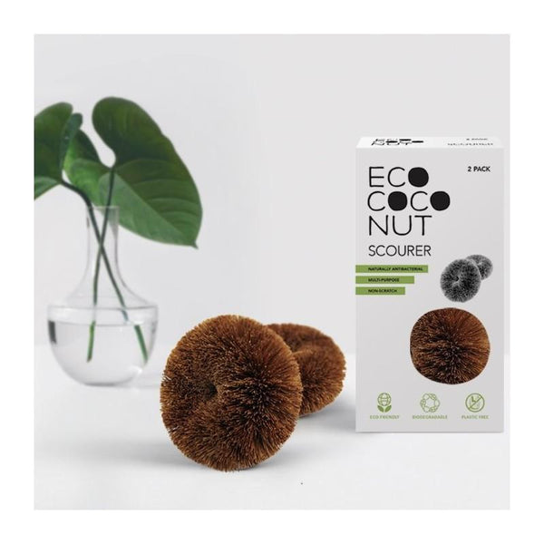 Twin Pack Coconut Scourer