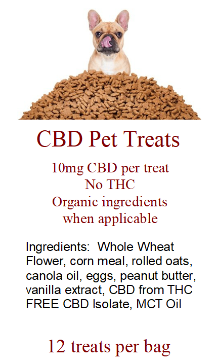 CBD Pet Treats Dozen Packs