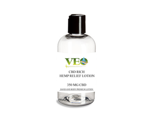 CBD Rich Hemp Relief Lotion