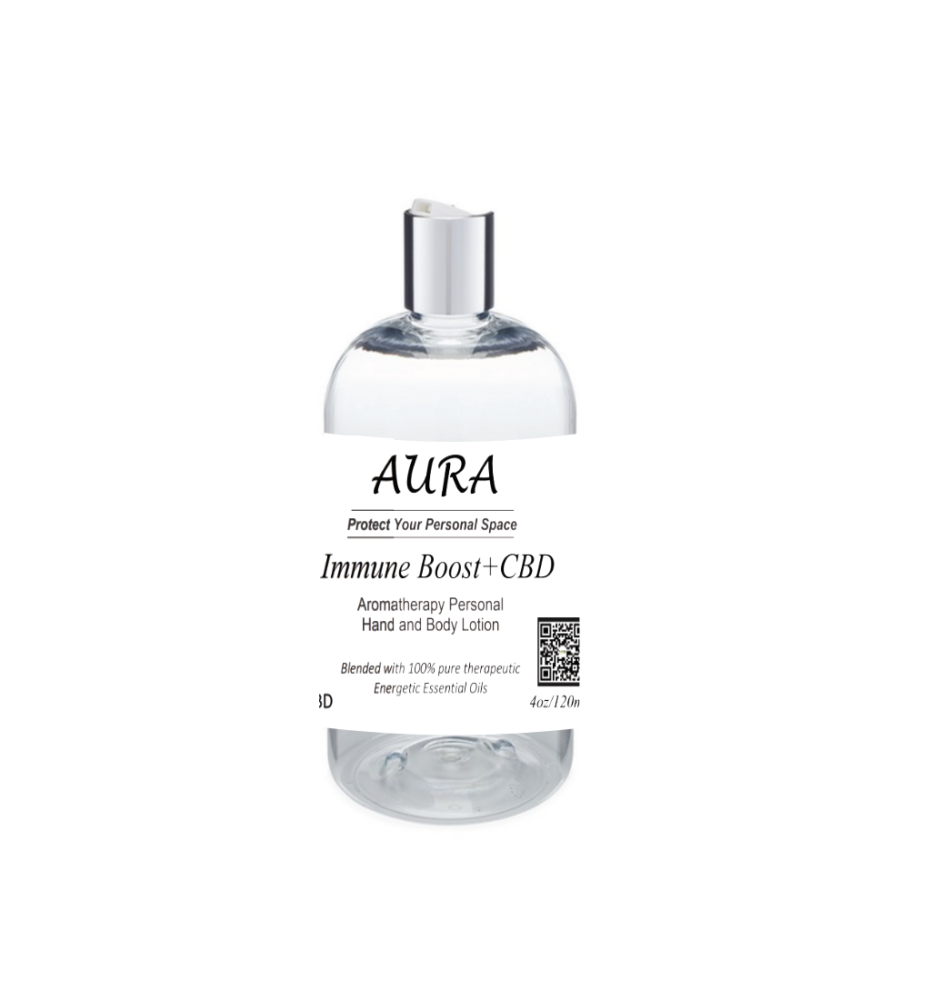 Aura Personal Space Lotions with CBD