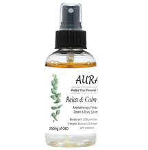 Load image into Gallery viewer, Aura Personal Space Spritzers with CBD