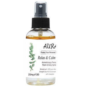 Aura Personal Space Spritzers with CBD