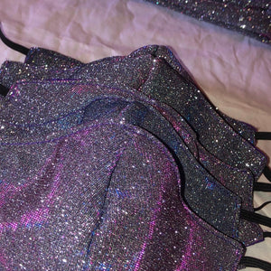Midnight Bling Face Mask ✨💜 (Wholesale)
