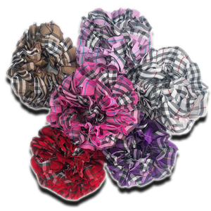 Plaided Scrunchies