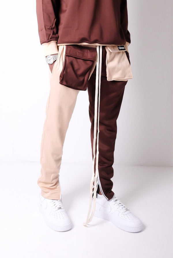 Cidenna Two Tone Cargo Pants