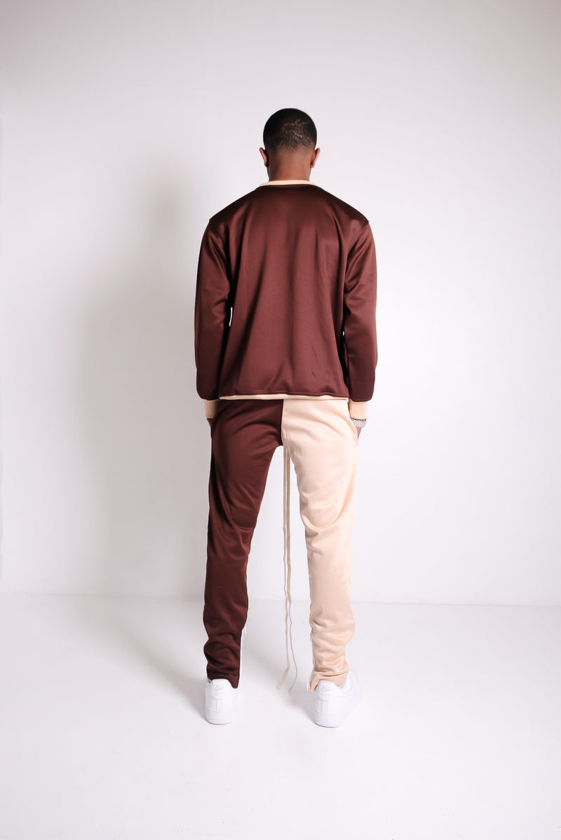 Cidenna Two Tone Cargo Pants back view