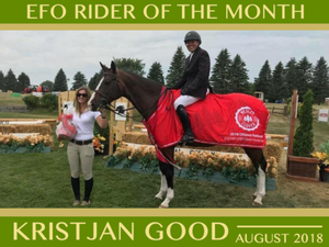 AUGUST - EFO Feature Rider of the Month: Kristjan Good
