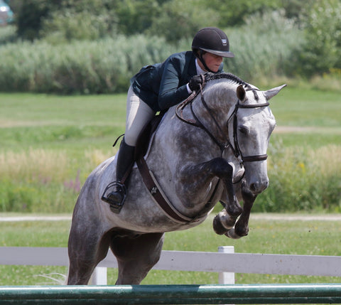 Maude Boulanger-Boucher-Equestrian Fashion Outfitters-horseback rider of the month; hunter-jumper