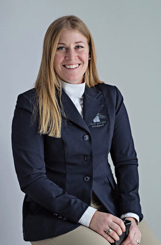 Maude Boulanger-Boucher the Equestrian Fashion Outfitters; Rider; of; the; month; horseback rider; hunter-jumper-dressage