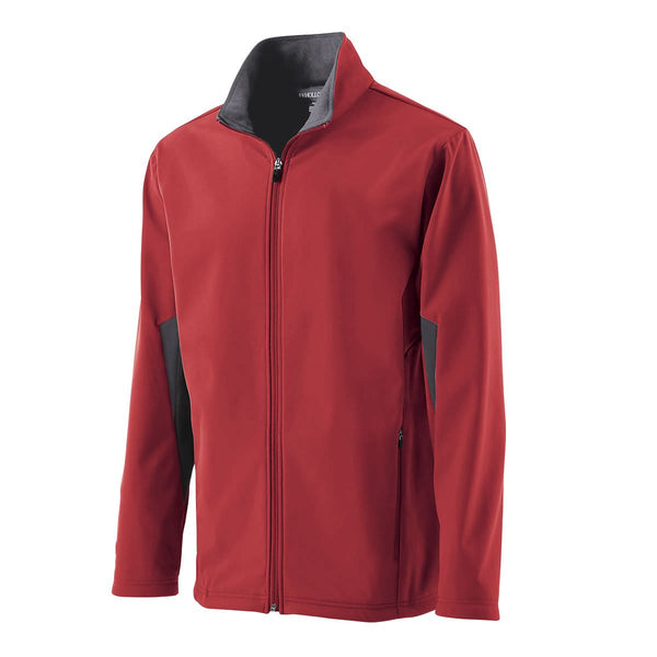 ANKY technical solutions male equestrian red jacket for equestrians and horseback riders. Waterproof and stylish.
