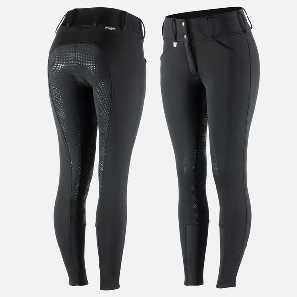 Horze Grand Prix Thermal Full Seat Breeches - Equestrian Fashion Outfitters