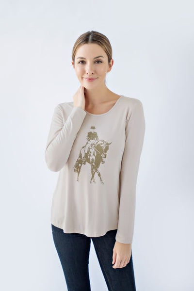 Chestnut Bay Spirit Tee Dressage - Equestrian Fashion Outfitters