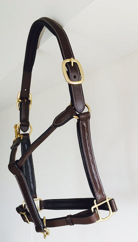 English Leather Halter - Equestrian Fashion Outfitters