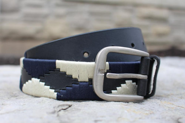 EFO leather polo belt for horseback riders. Keep your outfits on point with great looking belts.