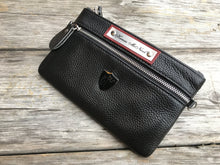 Load image into Gallery viewer, Black Knight Rider Wristlet