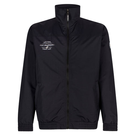 LV Jody fleece-liner bomber jacket for the male equestrian. Great for everyday and competition horseback riding.