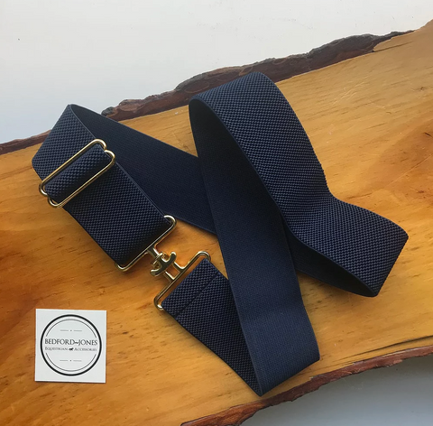 Bedford Jones Surcingle Buckle Belt - Equestrian Fashion Outfitters