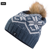 Load image into Gallery viewer, Horze Monika Snowflake Hat