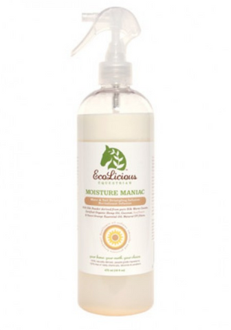 Ecolicious MOISTURE MANIAC Spray-on Detangler