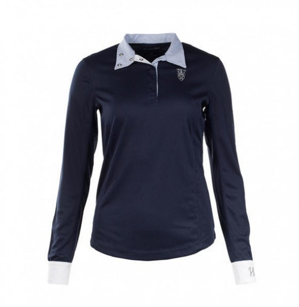 Horze Blaire  Long Sleeve Show Shirt - Equestrian Fashion Outfitters
