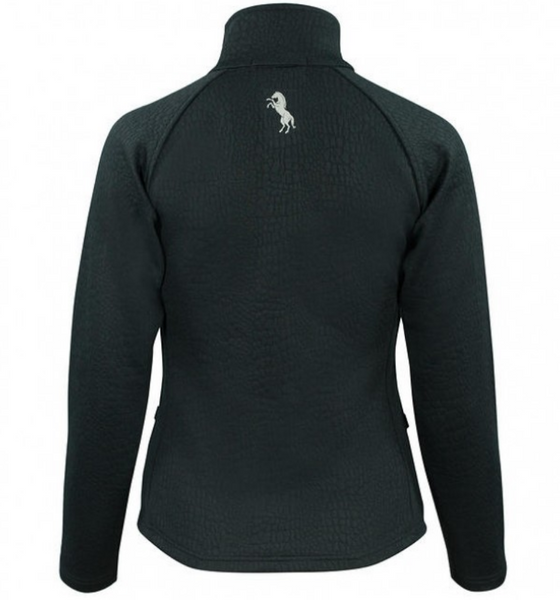 The Horze Deanna zip-up sweater for horseback riding. This horseback riding sweaters are perfect for the stylish and fashionable equestrian.