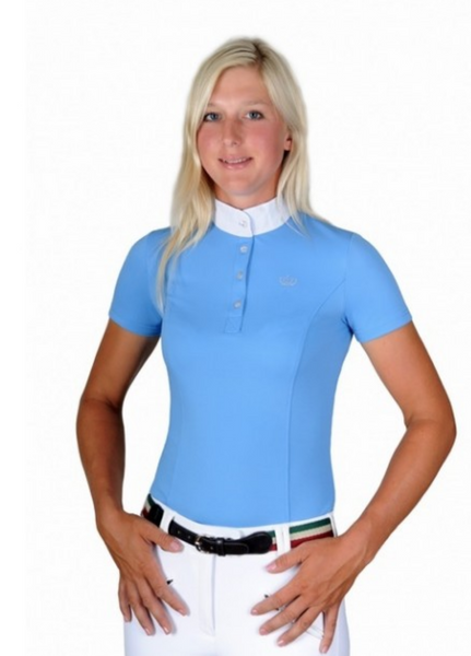 Iris Bayer Crown Show Shirt - Equestrian Fashion Outfitters
