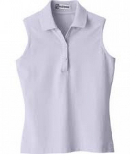 Extreme sleeveless polo shirt for the stylish equestrian on the go.