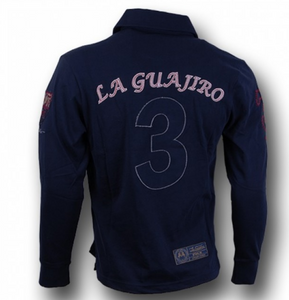 La Guajiro Men's Long Sleeve Polo