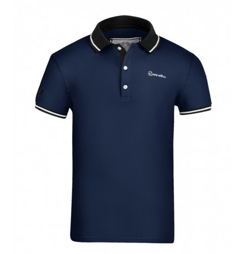 Cavallo Estafano Men's Short Sleeve Polo