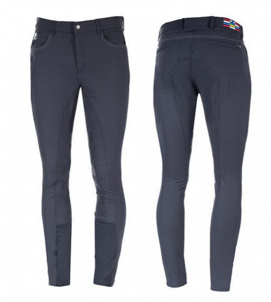 Horze mens extended full-seat breeches for stylish male equestrians. These horseback riding pants are great for everyday riding.