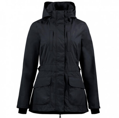 Horze Jadine winter jacket for horseback riding is perfect for all stylish equestrians. Horze Winter Jackets.