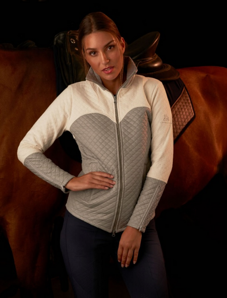 Majesty coat with waterproof inserts. This coat is great for the horseback riders wanting to make a statement in the ring.
