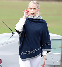 Load image into Gallery viewer, Equetech Reversible Snaffle Poncho