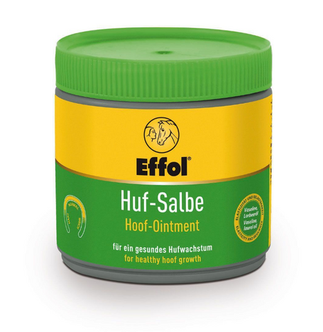 Effol hoof moisturizer for equestrians.