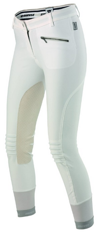 Dainese mens knee-patch breeches built for male equestrians. The stylish horseback riders will love these breeches for showing and competing.