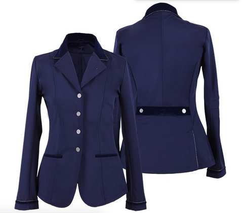 QHP Lily horseback riding competition horseback riding jacket for the fashionable equestrian.